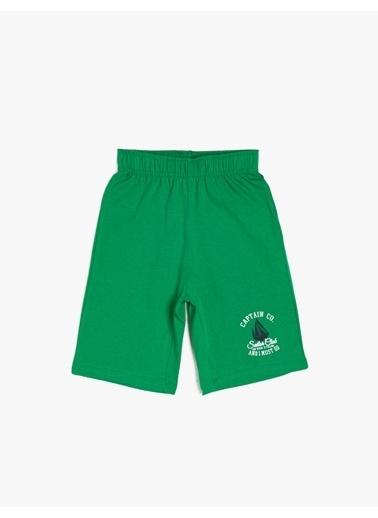 Koton Kids Şort Yeşil